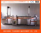 Spuntino automatico in lotti che frigge macchina in strumentazione Tszd-80 di /Catering dell'acciaio inossidabile