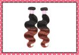 Preiswerte Preis Ombre Farben-Haar-Jungfrau-peruanische Karosserien-Welle 18inches