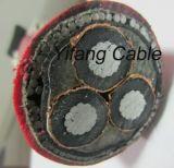 33000 volts de la puissance 3X185mm2 de cable électrique
