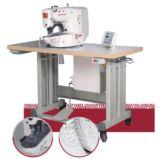 Máquina de costura do teste padrão do computador, máquina do bordado do computador