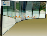 unidades vitrificadas isoladas laminadas moderadas 8+14A+8mm do vidro de segurança dobro de vidro