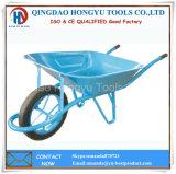 """15 """" carrinhos de mão de roda modelo de France da roda contínua/Wheelbarrow"""