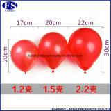 党は党装飾の円形の赤い標準乳液の束Oの気球を供給する