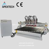 1813-4 филировальная машина CNC головок с независимо шпинделями Aircooling