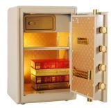 Nuova cassaforte di lusso dell'impronta digitale dell'oro per il Ministero degli Interni Usw