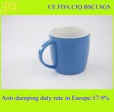 Großhandelsglasur-keramischer Becher mit Griff für Kaffee