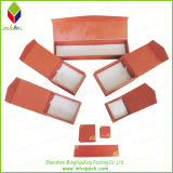 Plegamiento de papel rígido de embalaje caja de joyería con la cinta
