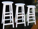 Chaise de barre en bois plein avec populaire