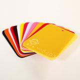 Le jaune a moulé la feuille acrylique pour la taille 2050mm*3050mm (SDL-235)