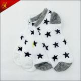 Белые носки звезды для взрослый лодыжки износа людей