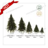 Decorazione artificiale popolare dell'albero di Natale della neve di scintillio