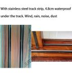 Prix d'usine Excellente qualité Portes en aluminium pour décoration intérieure