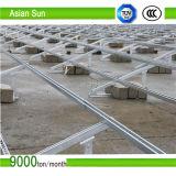 Corchete fotovoltaico de acero Caliente-Sumergido de la galvanización Q235B para la estructura de la Sistema Solar