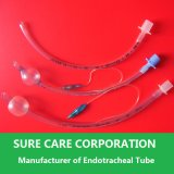 Tube endotrachéal jetable avec la manchette de /Without de manchette