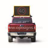 El mensaje variable portable del tráfico de Optraffic LED firma las VM montadas carro