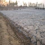 Colchón con poco carbono de Gabion del alambre de acero/acoplamiento galvanizados enes baño caliente de Gabion