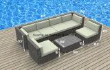 Weidenpatio-Sofa-im Freienstuhl-Tisch-Hausgarten-Weidenmöbel-Rattan-Möbel