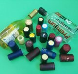 Calor do PVC - cápsula shrinkable para tampões de frascos do vinho