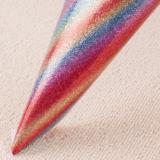 Neuester Regenbogen-glattes Funkeln-Gewebe-Leder für Tapete
