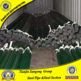 Tubo d'acciaio esterno galvanizzato Plastica-Rivestito