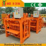 Sale Price를 위한 Qtj4-45 Shengya Manual Concrete Block Making Machine