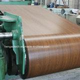Lamiera di acciaio del grano di legno & bobina di verniciatura, PPGL, PPGI