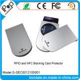 Suporte de cartão plástico novo RFID e NFC que obstruem o protetor do cartão