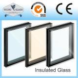カーテン・ウォールのための和らげられた絶縁されたガラス空ガラスを艶をかけるDoulbe