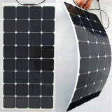 Bon panneau solaire semi flexible de vente 100W 18V de haute performance de Sunpower
