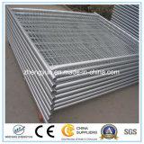 Cerca temporária de vedação galvanizada / fibra de arame da China