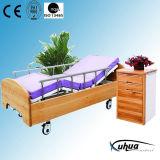 Mechanische hölzerne Hauptsorgfalt-Bett-Krankenhaus-Möbel