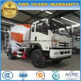 4X2具体的なミキサーのトラックの新しいデザイン販売のためのトラック5トンのコンクリートミキサー車の