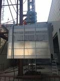 Construção dos passageiros Sc200/200 e dos materiais que iça a máquina