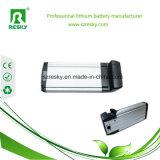 bloco liso da bateria da cremalheira traseira recarregável do Li-íon de 48V 10ah para Ebike