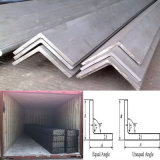 Горячая окунутая гальванизированная стальная штанга угла