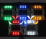 두 배는 태양 도로 장식 못 마커 선창 LED 램프 편든다