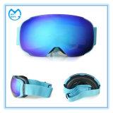 Blaue kugelförmige PC Objektiv-Snowboarding-Verdoppelungschutzbrillen für Erwachsenen