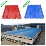 Feuille de toit d'UPVC renforcée par fibre de verre porteuse