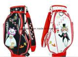 Sacchetto di golf giapponese, sacchetto di golf di modo, sacchetto di golf con la rotella