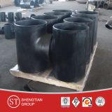 Тройник стальной отливки углерода