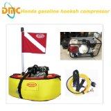 le compresseur de l'air 7-8bar pour le scaphandre respirant, plongeant et sport aquatique naviguant au schnorchel de scaphandre avec respirent le boyau avec le filtre et le régulateur