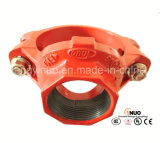 높은 Standard Cast 또는 Ductile Iron Grooved/Threaded Mechanical Tee - FM/UL Listed