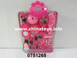 Giocattolo stabilito di bellezza DIY dei giocattoli della plastica impostato per la ragazza (0751264)