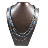 Neue Feld-Form-Ketten-Halsketten