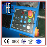 O Ce certificou a máquina de friso da mangueira hidráulica dos dados com a ferramenta rápida da mudança
