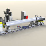 Automatischer TIG-Schweißer-Rohr-/Gefäß-Flansch-Ausschnitt/Abschrägung/Schweißgerät
