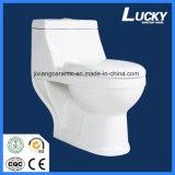 250mm chauds rugueux dans la toilette monopièce en céramique avec Saso/Ce