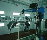 Linha de produção da pintura com pistola do robô