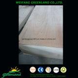 Madera contrachapada marina del pegamento de la base fenólica de la madera dura para el uso exterior