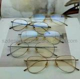 Montature per occhiali di titanio della pagina completa classica di modo